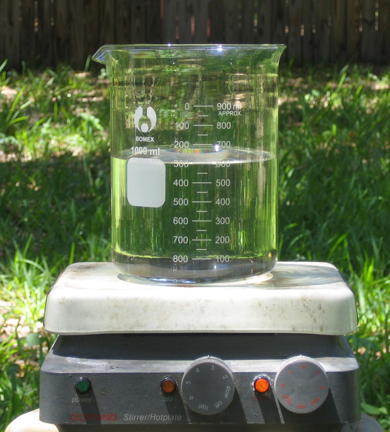 sulphuric acid dilution
